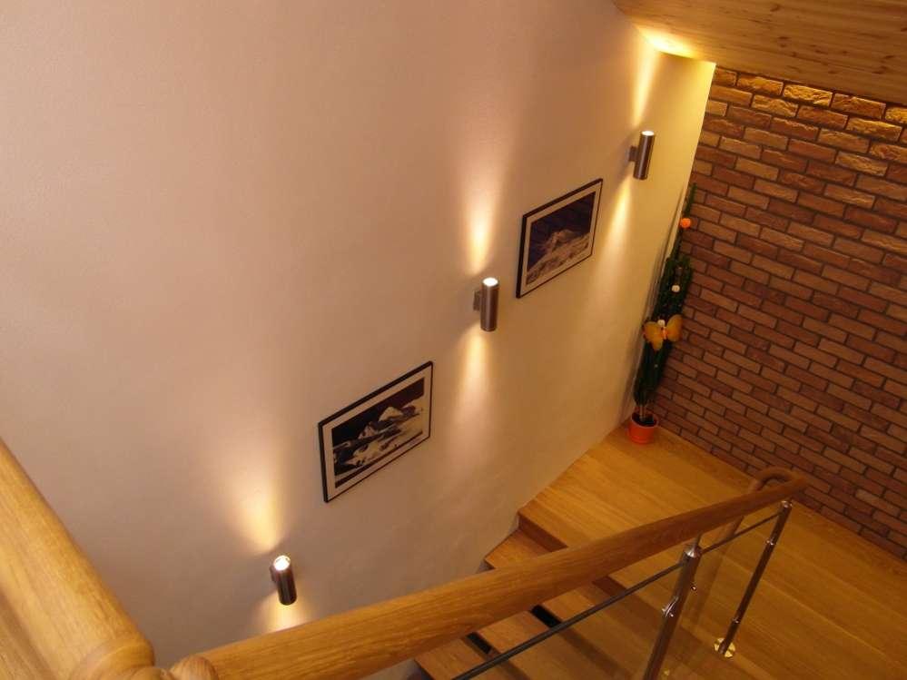 Schody s LED 2