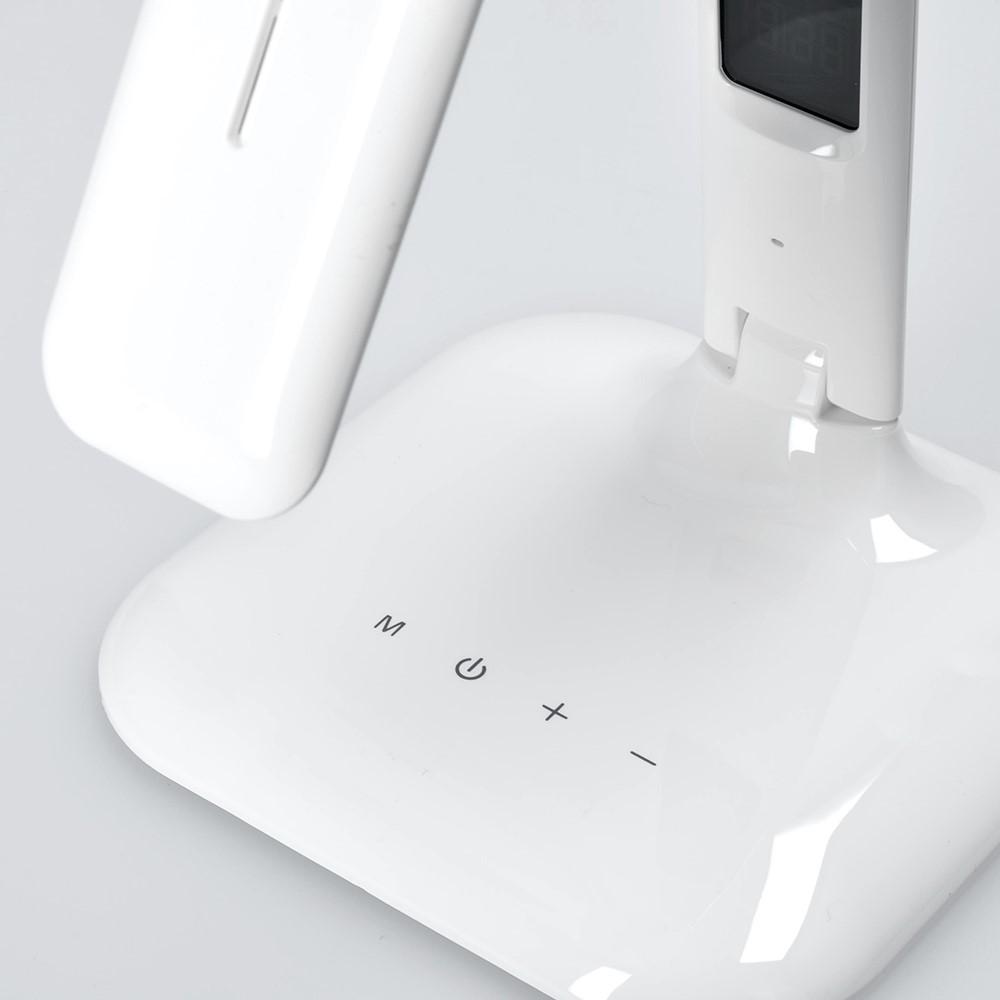 Solight LED stmívatelná stolní lampička s displejem