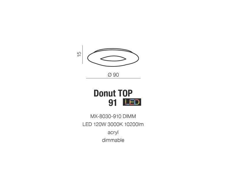 az donut nákres strop